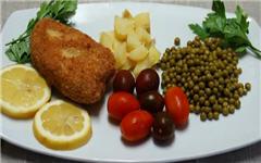 Котлета по-киевски из рыбы