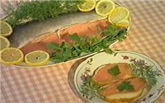 Красная рыба соленая по-домашнему