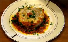 Рыба на томатной подушке